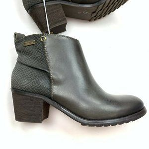 Pikolinos Andorra Leather Ankle Boots Booties NWOB